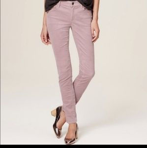 Ann Taylor  Loft Curvy Skinny Corduroy  Pants
